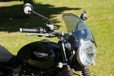 Dart Marlin Flyscreen: Screen For Triumph Street Twin