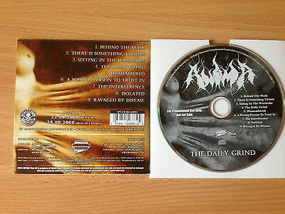 ANIMA ~'The Daily Grind' ~RARE PROMO ONLY CD 2008~GRINDCORE~DEATH METAL~NEW