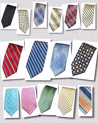 Dockers Men's Neck Tie MANY COLORS PATTERNS Choose Stripe Nautical Plaid NEW