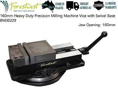 PREORER 160mm Precision Milling Machine Vice with Swivel Base Solid Heavy Duty