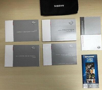 Nissan Frontier  2016 Owners Manual Books  / In Case // Free Shipping
