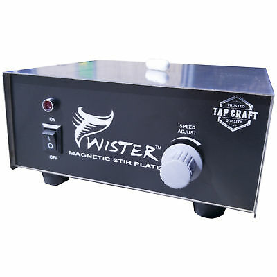 The Twister Magnetic Stir Plate Wort Homebrew Yeast Home Beer Brewing Wine Mead