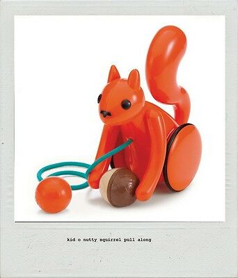 Kid O Nutty Squirrel Pull Along Toy - Kids Toy