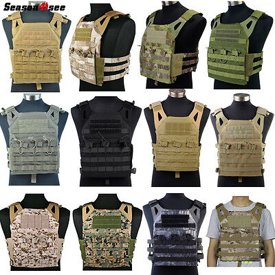 EMERSON Tactical 1000D JPC Combat Molle Tactical Vest Military Airsoft Hunting