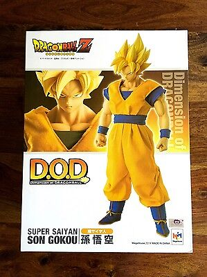 NEW! Megahouse Dimension of Dragonball : Super Saiyan Son Goku Figure 1:8 Scale