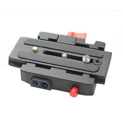 SLR DSLR Camera Tripod Quick Release Clamp Plate Mount Screw Adapter Set