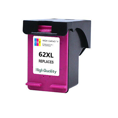 C2P07A for Envy 5600 5640 2C High Yield for HP 62XL Ink Cartridge Tri-Color 2PK