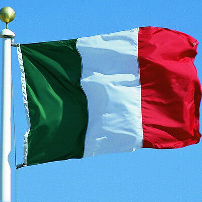 Italy Country Flag 35.4*59.1 inch Feet Polyester Italian National Banner HotSell