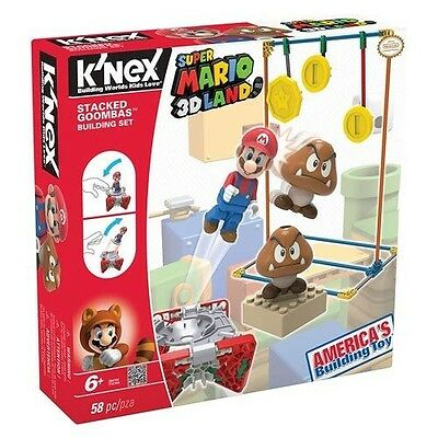 K'nex Super Mario 3D Land Stacked Goombas Building Set Kn38419