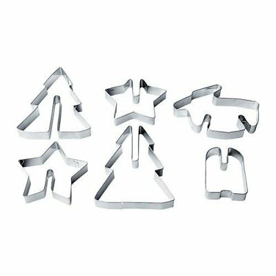 VINTER 2015 - Pastry Cutter, Set Of 6, Stainless Steel