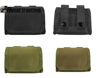 Tactical Airsoft Molle Shotgun Ammo Box Portable Durable Bullet Bag Hunting CS
