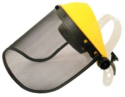 Rocwood Face Shield Visor Mesh or Poly Brushcutter Strimmer Trimmer Adjustable