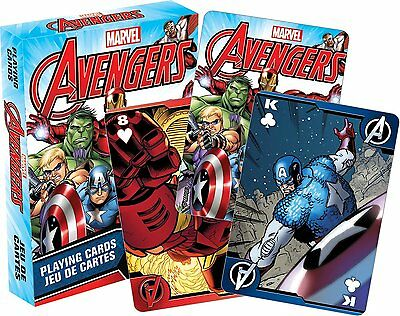 Marvel Avengers set of 52 playing cards (+ jokers)(nm 52409)