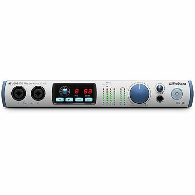 Presonus Studio 192 Mobile USB 3.0 22 x 26 Audio Recording Interface