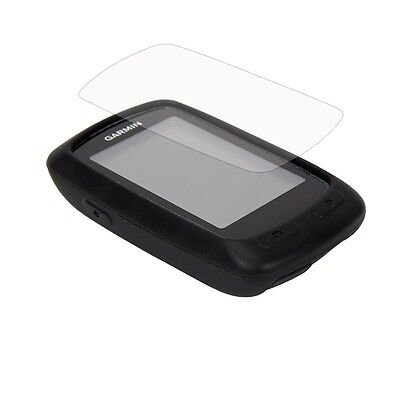 Hot New Quick Step Black Rubber Case + LCD Screen Protector For Garmin Edge 810