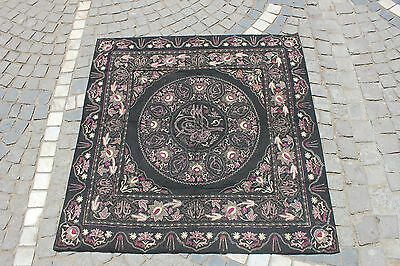 Antique Original Handmade Ottoman Islamic Amazing Wool And Silk Mixed Textile