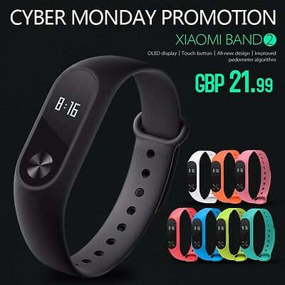 Original Xiaomi Upgrade 1S/2 Mi Band Smart Wristband Bracelet Heart Rate Monitor