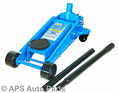 3 Ton Hydraulic Floor Trolley Jack Tonne Lifting Heavy Duty Car Van Lifting CE