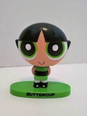 Powerpuff Girls Buttercup Mini Bobble Head Toy Figure Cake Topper 3""