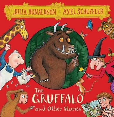 Gruffalo and Other Stories 8 Cd Box Set (English) Book & Merchandise Book