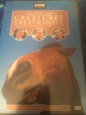 All Creatures Great & Small - The Complete Series 5 Collection DVD, Andrea Gibb,