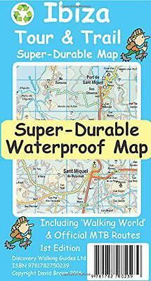Ibiza Tour & Trail Super-Durable Map, David Brawn | Map Book | 9781782750239 | N