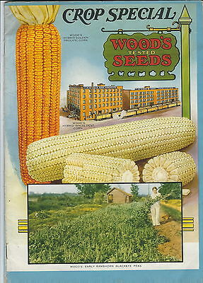 MB-104 - Wood's 1940 Seed Catalog Guide, Crop Special, Richmond, VA Illustrated