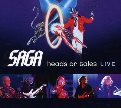 Saga - Heads Or Tales: Live  2011 [CD New]