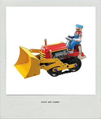 Front End Loader Tin Toy