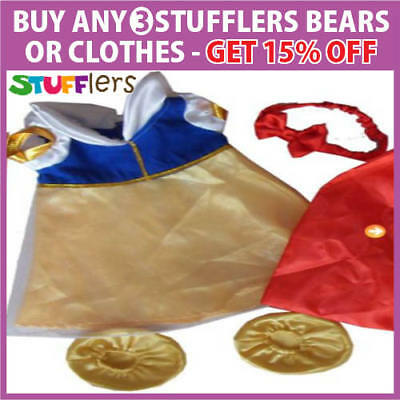 Snow White Clothing Outfit by Stufflers – Will fit on a Build a bear