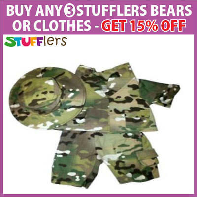 ARMY Commando OZ Army Clothing Outfit by Stufflers – Will fit on a Build a bear