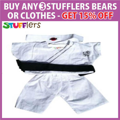 Karate Ninja Clothing Outfit by Stufflers – Will fit on a Build a bear