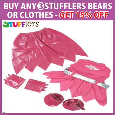 Batgirl Pink Clothing Outfit by Stufflers – Will fit on a Build a bear