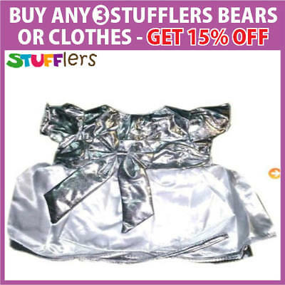 White Angel Clothing Outfit by Stufflers – Will fit on a Build a bear