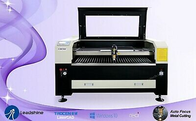 Metal&Non-Metal Laser Cutting Machine Engraver Combo 1300mmx1000mm,Reci W6 160w