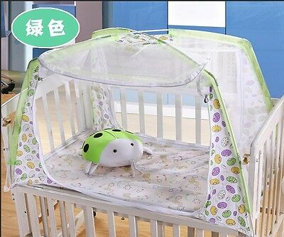 Portable Baby Infant Folding Travel Bed Crib Canopy Mosquito Net Tent New