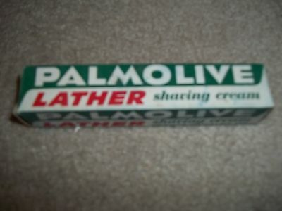 Vintage 1950,s Palmolive Lather  Shaving Cream
