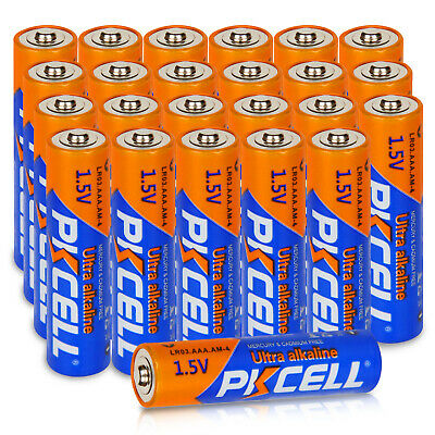 PKCELL Pkcell 24pcs AAA Alkaline Batteries LR03 High Quality EXP.2028 [USA]