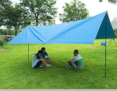 300X300CM Outdoor Camping Beach Picnic Pad Cushion Canopy Tent Shelter SunShade