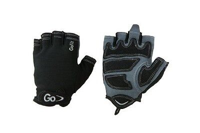 GoFit Men'S Cross Training Glove With Etched Synthetic Leather Palm (Black, X-La