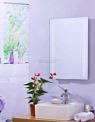 FoxHunter Wall Mount LED Illuminated Bathroom Mirror Unit Light With Sensor MC09
