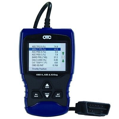 OTC OBD II, ABS and Airbag Scan Tool - 3209