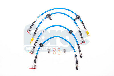 Forge Motorsport Braided Brake Lines for the Ford Focus RS MK3 FMFOR4480