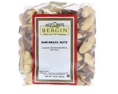 New Bergin Fruit And Nut Company Raw Whole Brazil Nuts Kosher Healthy Nutrition