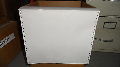 """Braille Paper 11 x 11.5"""";Plain Continuos Feed (1 Box -1000 Sheets)"""