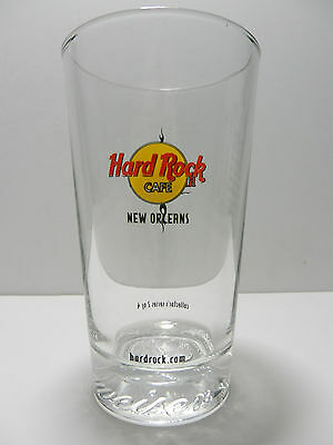 Hard Rock Cafe New Orleans Louisiana All Is One Budweiser Pint Beer Glass