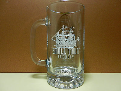 Small Town Brewery 16 ounce Beer Mug Wauconda Illinois