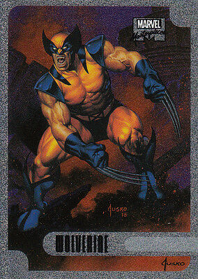 2016 Marvel Masterpieces - HOLOFOIL #02 Wolverine 2 of 17