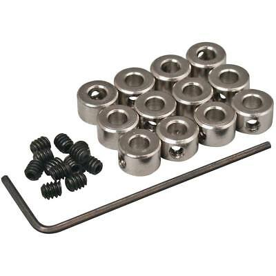 """Great Planes GPMQ4305 Plated Wheel Collars 1/8"""" (12)"""