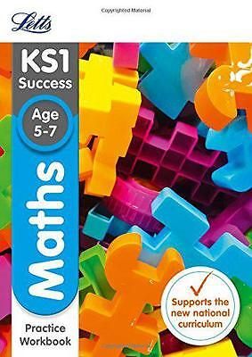 KS1 Maths Practice Workbook (Letts KS1 Revision Success - New 2014 Curriculum),